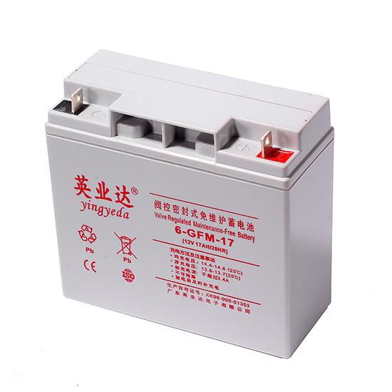 英业达蓄电池6-GFM-17